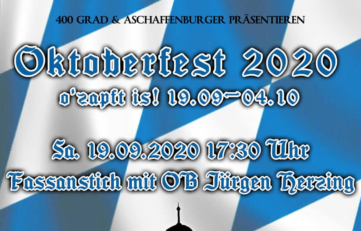 OB Jürgen Herzing eröffnet das Oktoberfest am 19. September